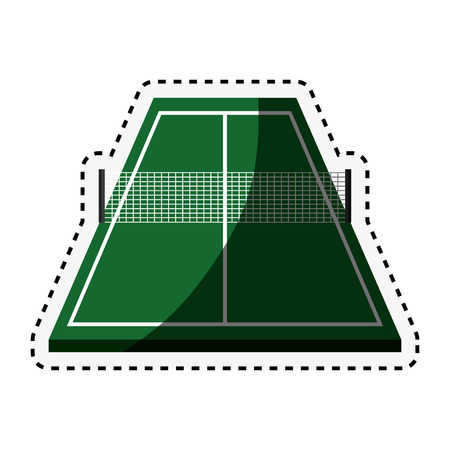 table tennis icon vector illustration design
