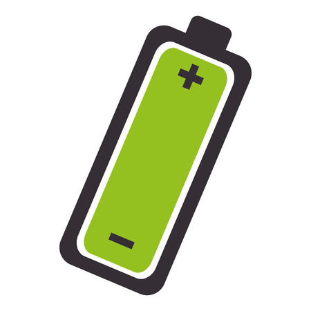 industry electronic: battery level isolated icon vector illustration design
