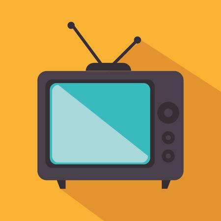 retro tv: retro tv isolated icon vector illustration design