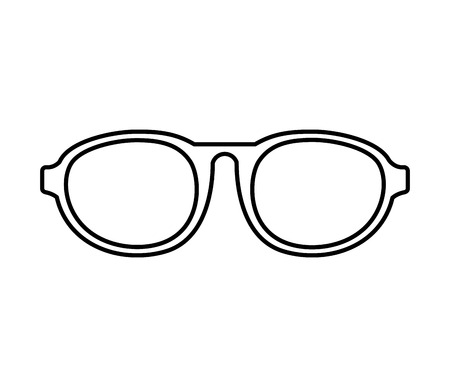 old people reading: eye glasses style icon vector illustration design