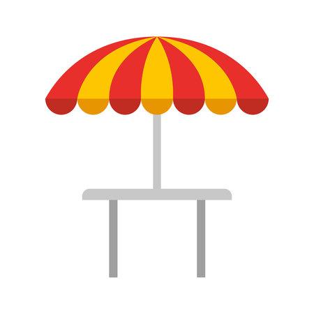 serving people: restauran table fast food vector illustration design