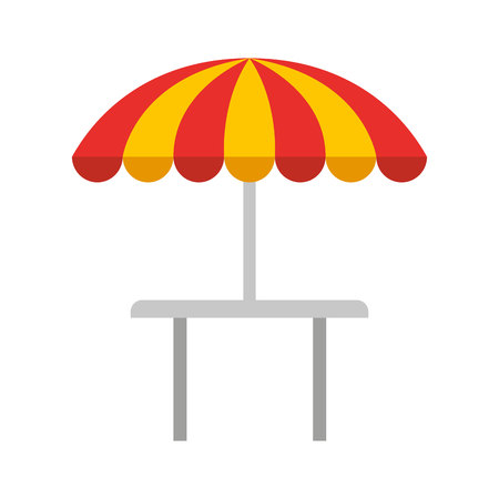 restauran table fast food vector illustration design