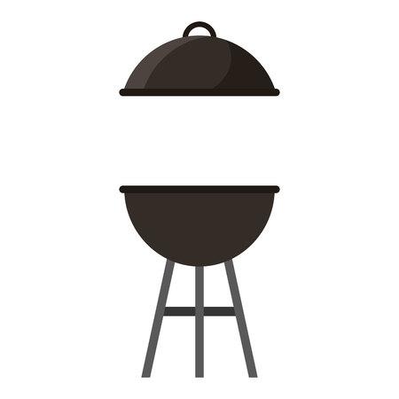 barbecue stove: oven grill bbq icon vector illustration design Stock Photo