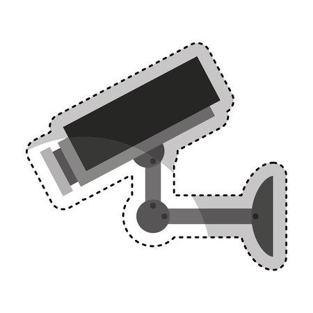 camera cctv isolated icon vector illustration design