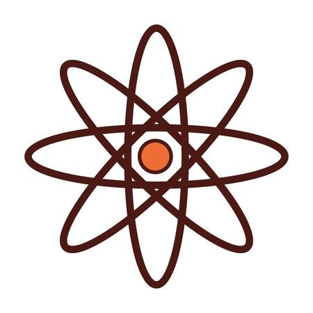 molecule structure isolated icon vector illustration design Illustration