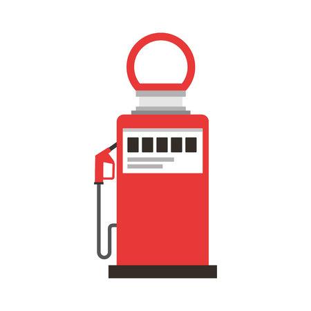 benzine: station service isolated icon vector illustration design