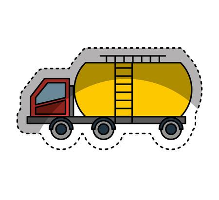 tank car: Tank car isolated icon vector illustration design Illustration