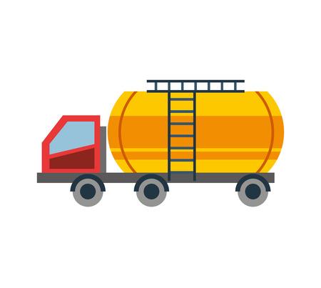 tank car: Tank car isolated icon vector illustration design Stock Photo