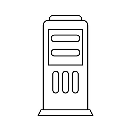 refuel: station service isolated icon vector illustration design