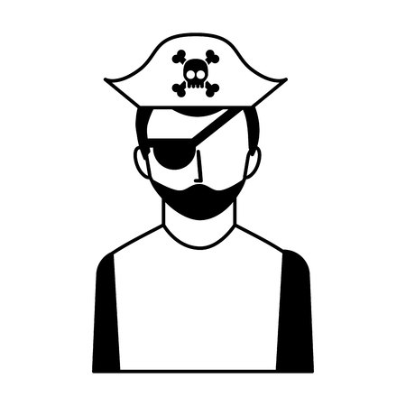 dangerous work: hacker avatar character isolated icon vector illustration design