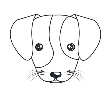 Puppy Cartoon Face