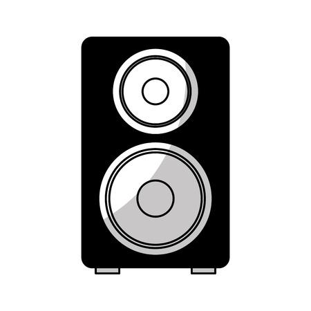 スピーカー オーディオ デバイス アイコン ベクトル イラスト デザイン