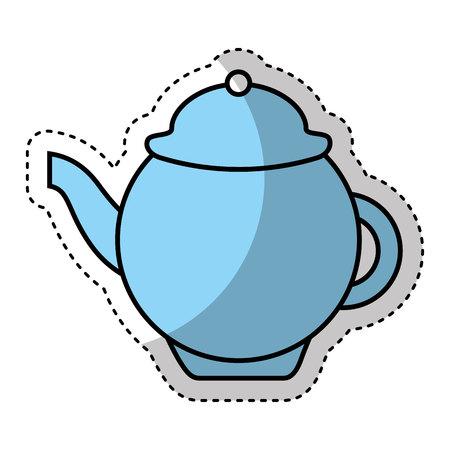 tea pot isolated icon vector illustration design
