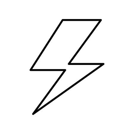 energy symbol: ray energy symbol icon vector illustration design