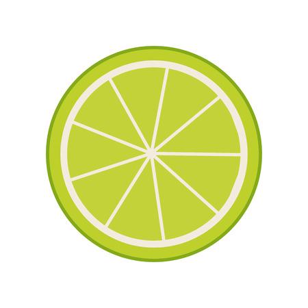 citrus fruit: lemon citrus fruit icon vector illustration design
