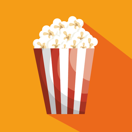 pop corn: pop corn isolated icon vector illustration design Illustration