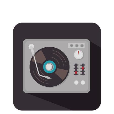 disk vinyl retro music vector illustration design Illustration