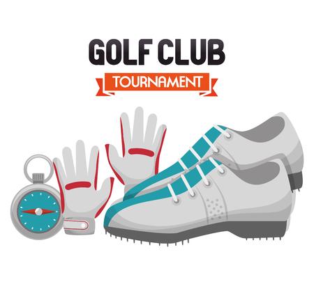 specials: golf club sport icon vector illustration design