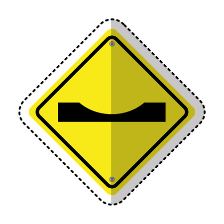 gaps: gap in track traffic signal information icon vector illustration design Illustration