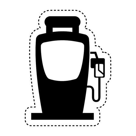 refuel: station service fuel icon vector illustration design