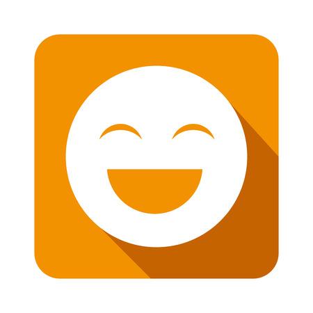 jamaican man: emoticon face isolated icon vector illustration design