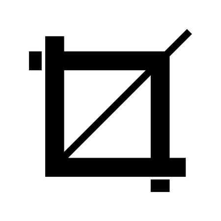 creative shot: zoom image photographic icon vector illustration design