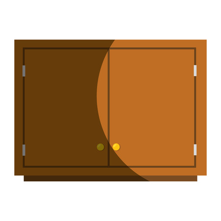 drawers: Kitchen chest of drawers vector illustration design Illustration