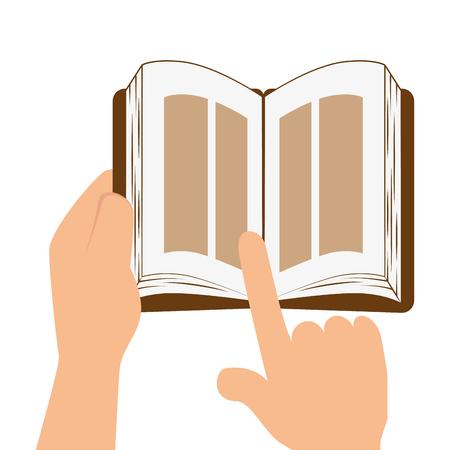 holy book: sacred holy bible icon vector illustration design Illustration