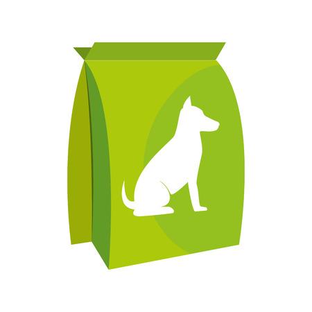 dog bag food icon vector illustration design Illustration