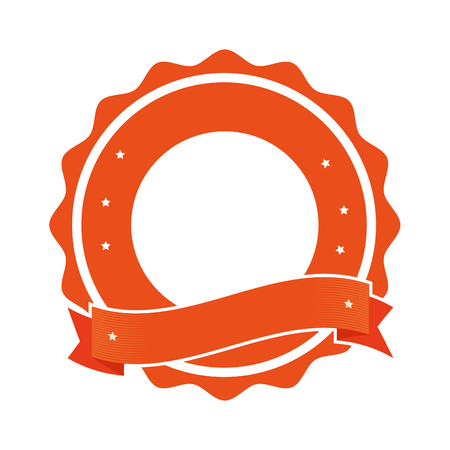 warranty: quality emblem isolated icon vector illustration design
