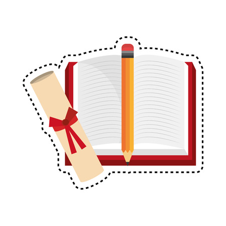 magazine stack: books library isolated icon vector illustration design