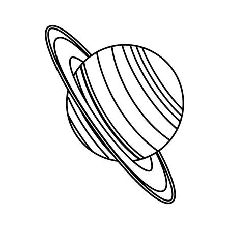 Planet of the solar system vector illustration design