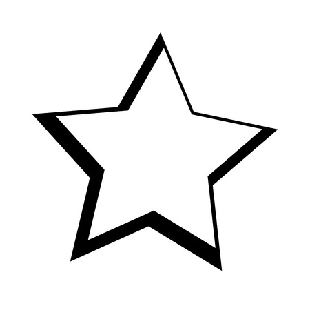 star space isolated icon vector illustration design Illustration
