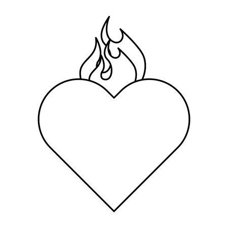 Heilig Hart van Jezus vectorillustratieontwerp