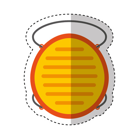mouth cap safety isolated icon vector illustration design Illustration
