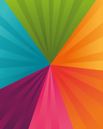 varied: Background of varied colors vector illustration design