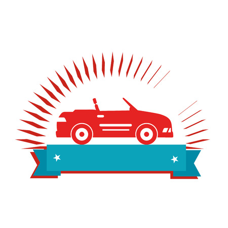 car sport vehicle icon vector illustration design