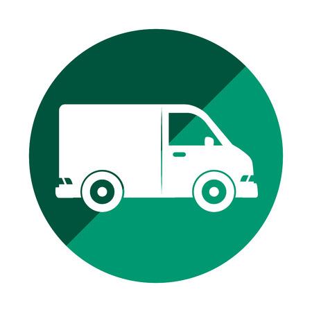 schoolbus: van vehicle isolated icon vector illustration design
