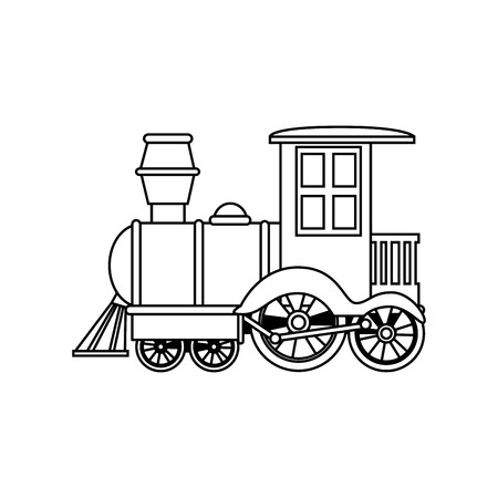 Former les enfants jouet isolé icône vector illustration design Banque d'images - 71268750