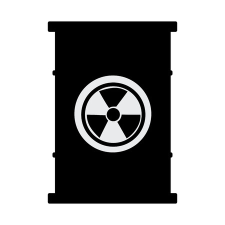 atomic: barrel atomic isolated icon vector illustration design