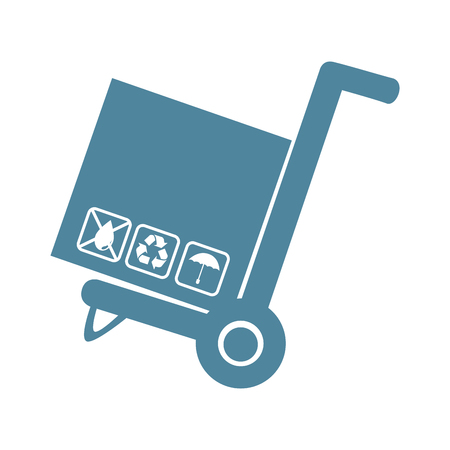 delivers: carton box isolated icon vector illustration design