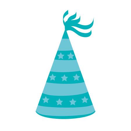 hat party isolated icon vector illustration design Illustration