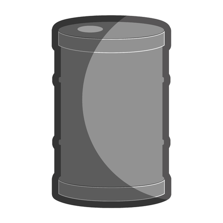 chemical hazard: barrel oil isolated icon vector illustration design