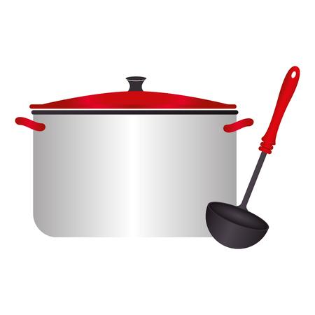 рисунок кастрюльки и поварешки откроете публичный
