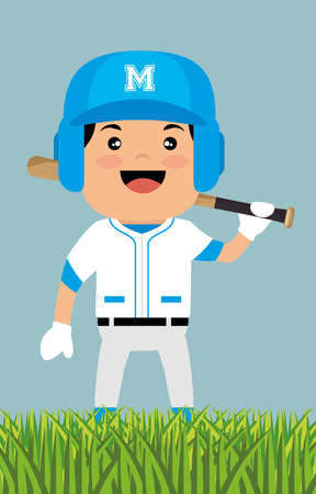baseball player sport icon vector illustration design