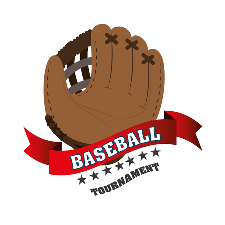 baseball club emblem icon vector illustration design