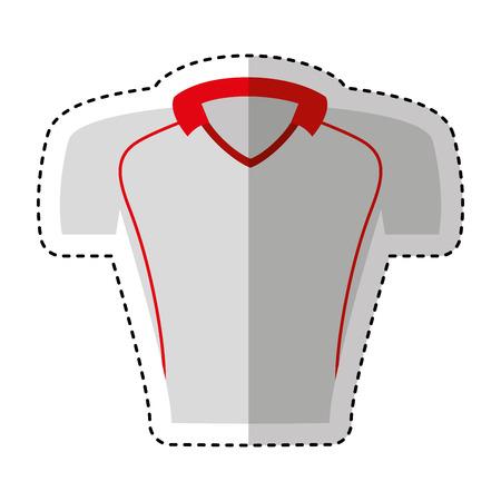 shirt american football uniform vector illustration design Illustration