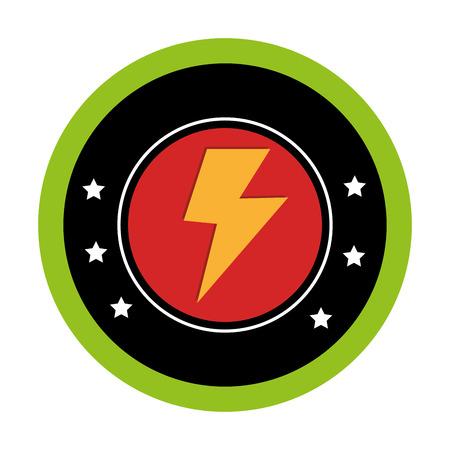 storm ray isolated icon vector illustration design Illustration