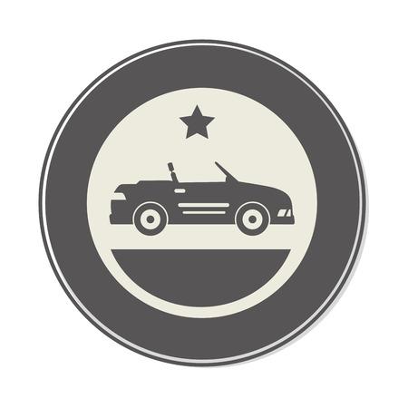 car sport vehicle icon vector illustration design