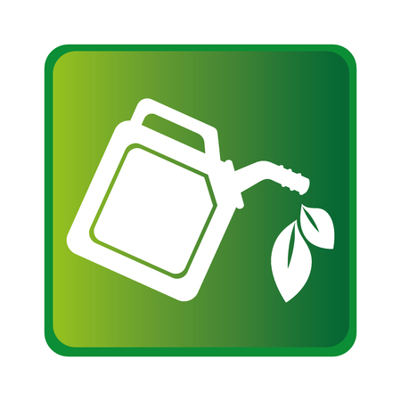 green gallon isolated icon vector illustration design Illustration